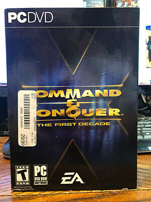 COMMAND & CONQUER: The First Decade (includes game keys, 65