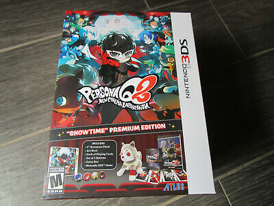 NEW Persona Q2: Cinema Labyrinth Limited Showtime Premium Edition Nintendo 3DS