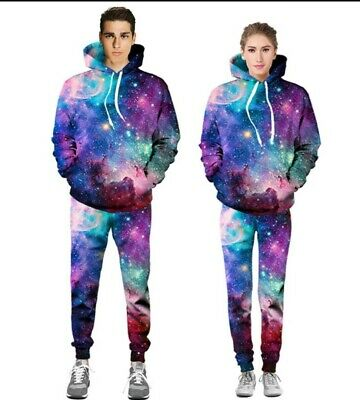 Digital Printing Hooded Male And Female Sweaters Medium  size