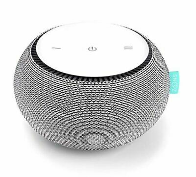 SNOOZ White Noise Sound Machine - Real Fan Inside for Non-Looping White Noise -