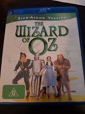 The Wizard Of Oz (Blu-ray, 2009) very good condition free Post
