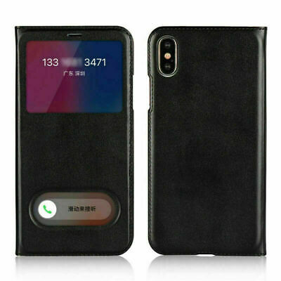 Magnetic Luxury Slim PU Leather Flip Phone Case Cover For iPhone X 8 7 6S Plus