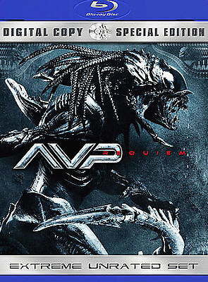 Aliens Vs. Predator: Requiem (Blu-ray +DVD 2-Disc Set, 2009, Extreme Unrated)