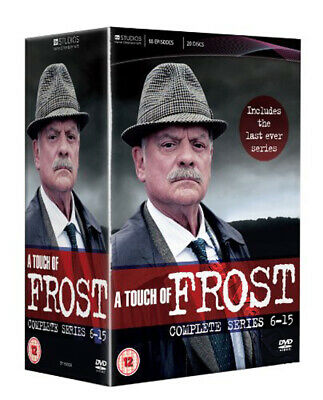 A Touch of Frost - Enire Series 6-15 NEW PAL 19-DVD Set