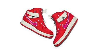 great quality official store temperament shoes Nike Air Force 1 High EU Emotionally Unavailable Heart Red ...