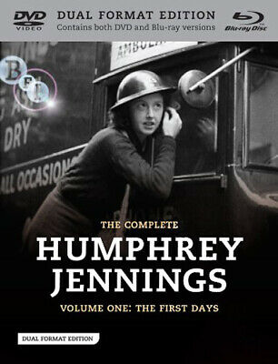 Humphrey Jennings Collection - Vol 1 NEW Arthouse Documentaries Blu-Ray Disc