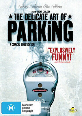 The Delicate Art of Parking NEW PAL Arthouse DVD Trent Carlson Fred Ewanuick