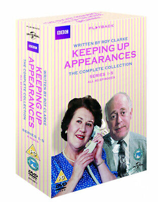 Keeping Up Appearances (Complete Series 1-5) NEW PAL Cult 8-DVD Set Harold Snoad