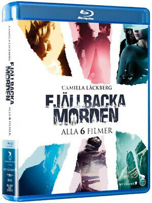 The Fjällbacka Murders Collection NEW Cult Blu-Ray 6-Disc Set C. Galli Sweden