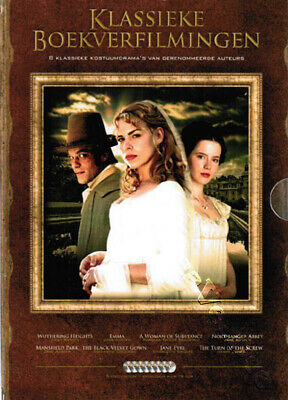 Classic Book Adaptations Collection NEW PAL Series Cult 8-DVD Set K. Beckinsale