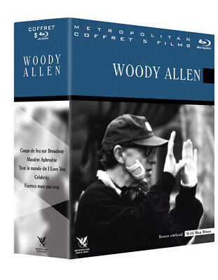 Woody Allen Collection NEW Blu-Ray 6-Disc Box Set John Cusack