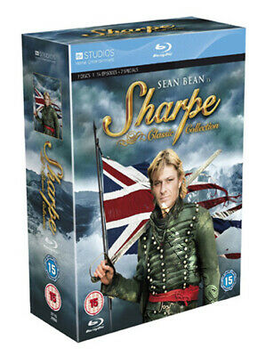 Sharpe - Classic Collection (14 Ep. & 2 Specials) NEW Blu-Ray 7-Disc Set S. Bean