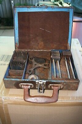 old collectable shearers comb & cutter box(shearing)