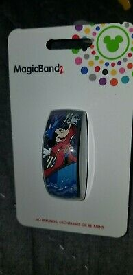 NEW Disney Parks Magic Band Mickey Mouse Sorcerer Mickey LINK IT LATER