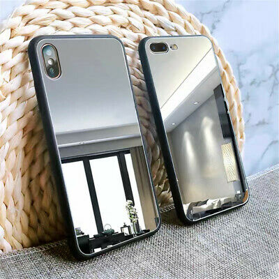 For iPhone11 Pro Max XS XR 8 Luxury Mirror Shockproof Ultra Slim TPU Case Cover