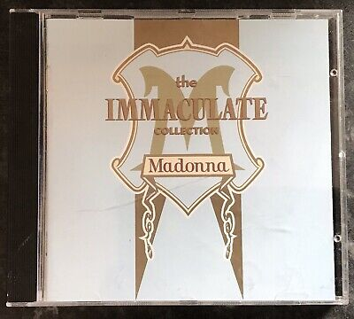 Madonna The Immaculate Collection Music Cd As Good As New Mint Condition