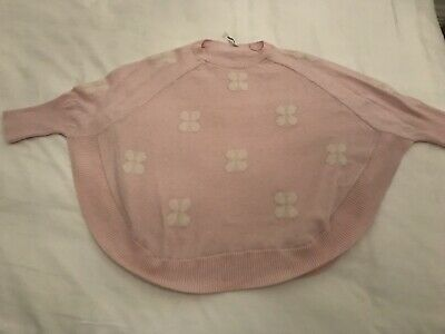COUNTRY ROAD girls pink poncho jumper size 10
