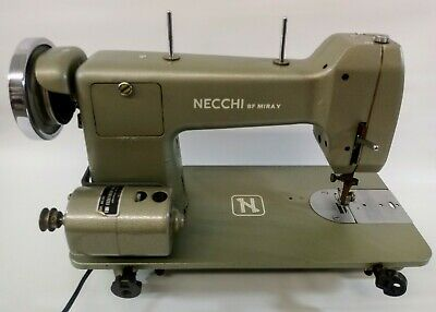 Vintage Necchi BF Miray Sewing Machine  Power/Motor Working- Fast Ship