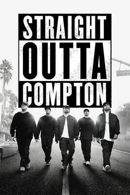 169475 Straight Outta Compton Ice Cube MC Ren HIPHOP Wall Poster Print AU