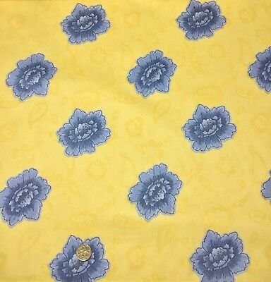 CLEARANCE SALE HALF M Flower Floral Paisley Sewing Quilting Fabric Cotton Drill