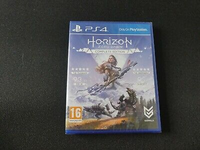 Horizon Zero Dawn Complete Edition PS4 PlayStation 4 *Brand New Sealed*