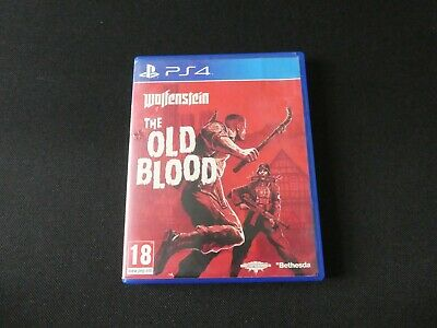 Wolfenstein: The Old Blood PlayStation 4 PS4