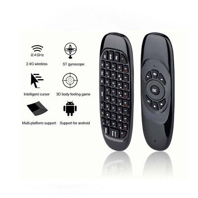 2.4G-Wireless Remote Control Air Mouse Keyboard For Android TV Box Kodi PC &T FF