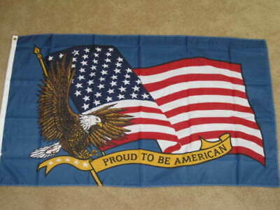 3X5 Proud To Be An American Flag Usa Us Banner New F169