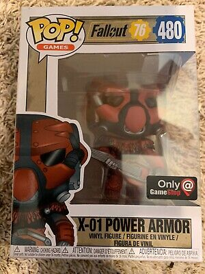 Fallout 76 Funko Pop! - X-01 Power Armor (Red) - GameStop Exclusive