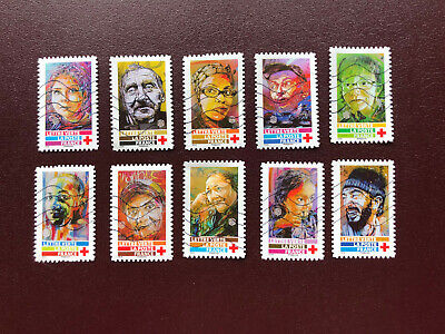 Timbres Croix-Rouge France 2019 Oblitere C215 Serie Complete