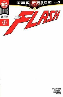 The Flash #64 Blank Variant Edition 2016 Vf/Nm Dc