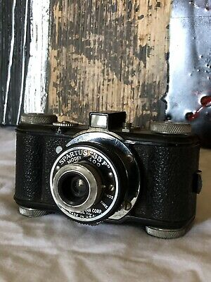 """Vtg.SPARTUS 35F """"Model 400"""" 35mm Film Camera by Herold Products. Tested."""