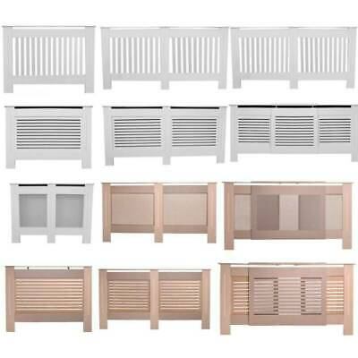 Radiator Cover Cabinet White Unfinished Modern Traditional Wood Grill  Furniture