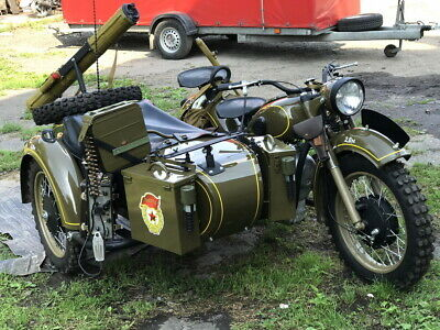 1969 Dnepr Ural cossack motorcycle with sidecar