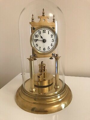Beautiful Vintage Wurth 400 Day Anniversary Torsion Clock in working order