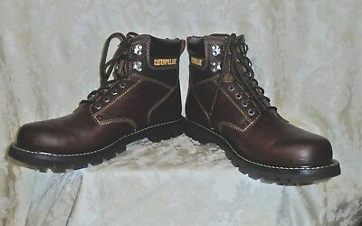 a82020063d8 NEW MEN`S CATERPILLAR Adner Boots Leather MSRP$210 - $102.29 | PicClick