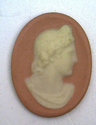 Antique Vintage Pink Alexander the Great WEDGEWOOD Wedgwood like Cameo #H30