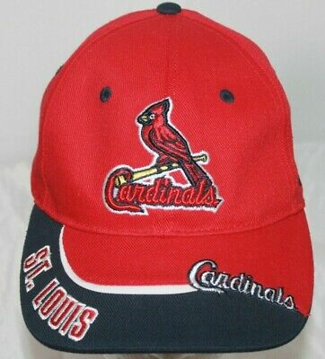 St. Louis Cardinals 47 Brand MLB Youth Clean Up Hat Strap back Cap Hook/Loop