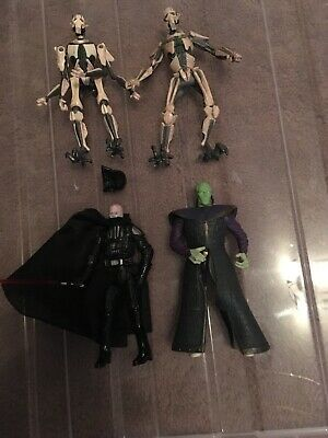 Star Wars Action Figures Darth Vader And Others Lot 2  Lovely Condition Low PP