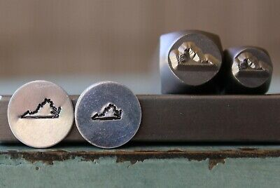 SUPPLY GUY 6mm//4mm Mama and Baby Quail Metal Punch Design 2 Stamp Set SGCH378379