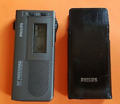 Philips - 597 - Professional Dictaphone - Very Good Condition