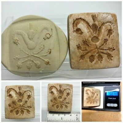 (40 mm)Unique Dragon  Seal Intaglio & Indus valley inscription stone stamp