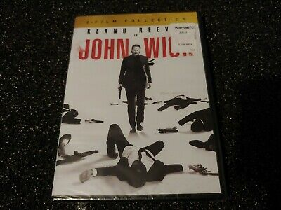 John Wick 2 Film Collection Chapters 1&2 (DVD) FACTORY SEALED Keanu Reeves