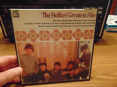 The Hollies Greatest Hits 7 1/2 IPS Reel to Reel Tape Play Tested