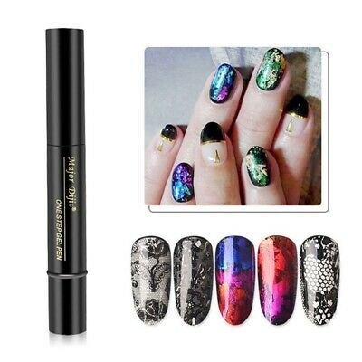 1x Nail Foil Adhesive Glue Starry Sky Galaxy Sticker Transfer Glue Nail Art