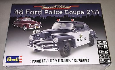 Revell '48 Ford Police Coupe 2 'n 1 1/25 scale model car kit new 4318