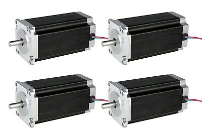 4PCS Nema23 Stepper Motor 112mm 3.0A 425oz-in 4Wires 23HS9430 CNC KIT EU FREE