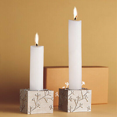 NEW Villmain Branches Candlestick Holders 2 pcs set Lead-Free Pewter