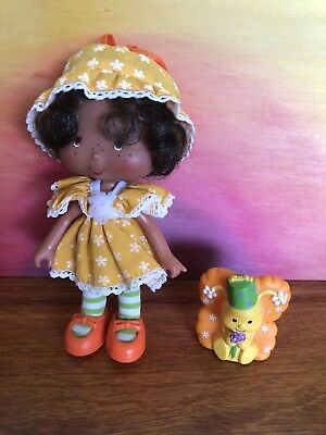 Orange Blossom Doll And Marmalade Pet Party PlesserVintage Strawberry Shortcake