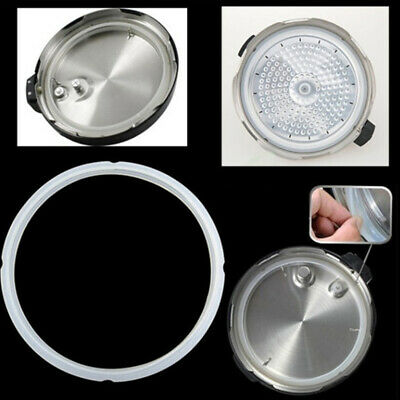 18-22CM Silicone Rubber Pressure Cooker Seal Ring Clear Ring Gasket Practical UK